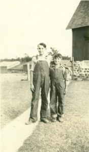 Raymond and Robert Habelman